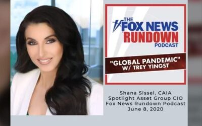 CIO Shana Sissel discusses the unexpected V-shaped recovery we are experiencing post-COVID on the FOX News Rundown podcast